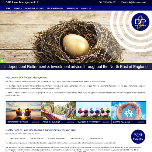 dp asset management ltd