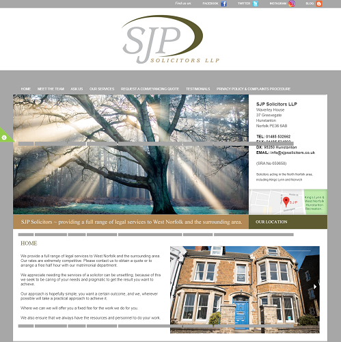 SJP Solicitors West Norfolk